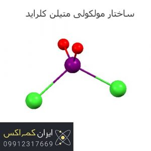 ساختار مولکولی متیلن کلراید